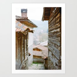 Rural Bulgarian Village Art Print