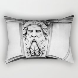 Image of God and Holly Spirit Photo in Rome Italy Rectangular Pillow