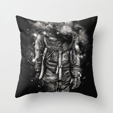 Lost In Cosmic Shades Throw Pillow