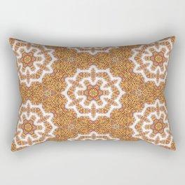 Colored Pencil Mandala 2 Rectangular Pillow