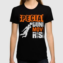 Basketball Sports Player Special Dunk Move T-Shirt T-shirt