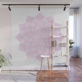 Pink Lotus Wall Mural