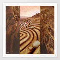 Ploughscape Art Print