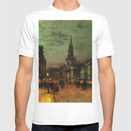 Classical Masterpiece 'Blackman Street, London' by John Atkinson Grimshaw T-shirt