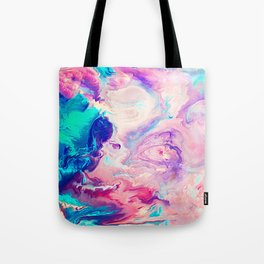 Ice Paint Tote Bag