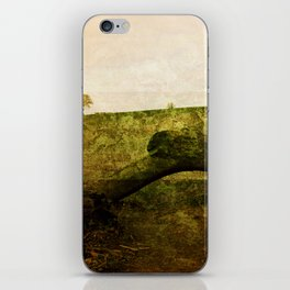 Textured Field iPhone Skin