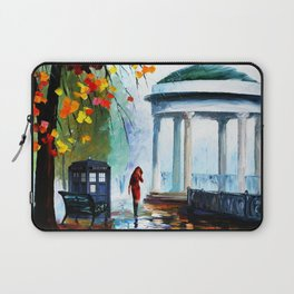 Tardis And The Girl Laptop Sleeve