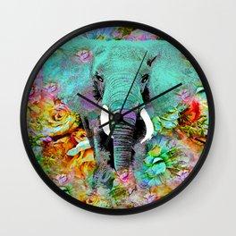 ELEPHANT #8 Wall Clock