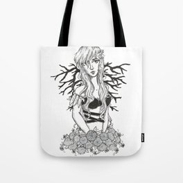 Branched Wings Tote Bag