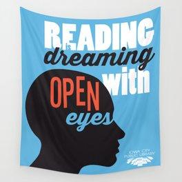 Open Eyes - Iowa City Public Library Wall Tapestry