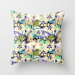 Flower fantasy. Throw Pillow