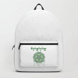 Mantra of the Green Tara Backpack