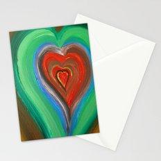 Rainbow Love Stationery Cards