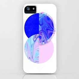 marblized iPhone Case