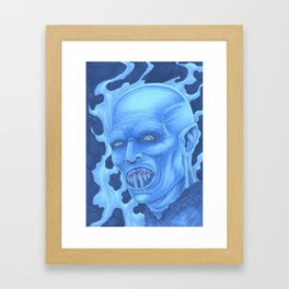 Nosferatu Vampire Framed Art Print