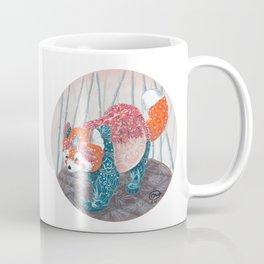 """"""" Red Panda """" by Teresa Ball ( TBall ) Coffee Mug"""