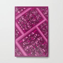 Raspberry Fluff DPA170719a Metal Print