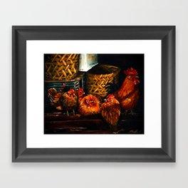 Feel like Chicken Tonight Framed Art Print