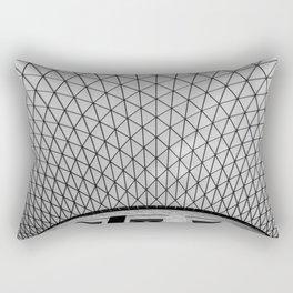 Architectural Structure Rectangular Pillow
