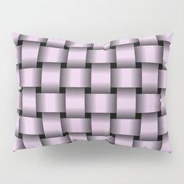 Pastel Violet Weave Pillow Sham