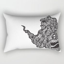 Hairy Smoke Bastard #1 Rectangular Pillow