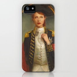Her Face Launched A Thousand Ships iPhone Case