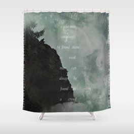 A Wise Man Shower Curtain