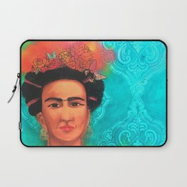 Frida Fragil y fuerte Laptop Sleeve