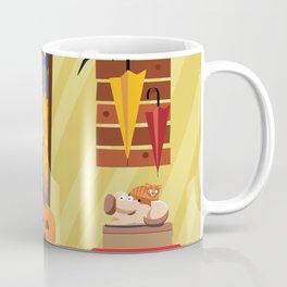 Trick or Treater Halloween Illustration Coffee Mug