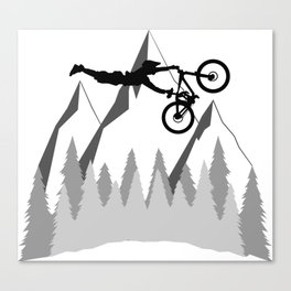 MTB Superman Canvas Print