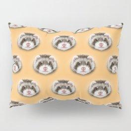 angry ferret Pillow Sham