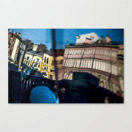 The reflected city Canvas Print