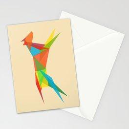 Fractal Geometric Dog Stationery Cards