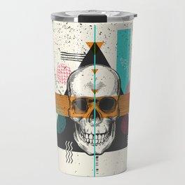 Skull Geometry #2 Travel Mug
