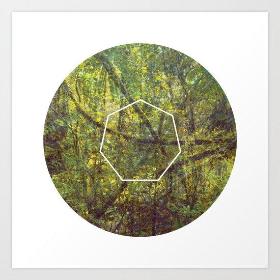 Geometrie #6 Art Print