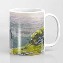 Arthur's Seat - Edinburgh Oil Painting Coffee Mug