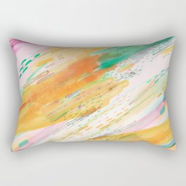 Fibers Rectangular Pillow
