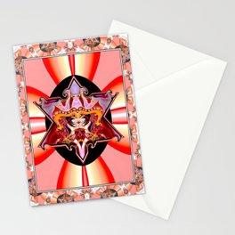 Karma Star Cat Stationery Cards