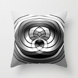 Modern Me Spiral Throw Pillow