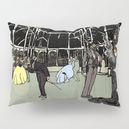 News Years Eve in London Pillow Sham