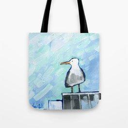 Skipper Seagull Tote Bag