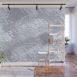 Silver Brush Wall Mural