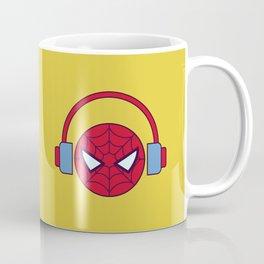 Spider-man Homecoming Minimalist Poster - Headphones Coffee Mug