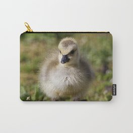 Baby Canada Goose Fluff Ball Carry-All Pouch