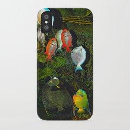 At the Aquarium iPhone Case