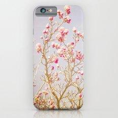 Sweet Pink Magnolias iPhone 6s Slim Case