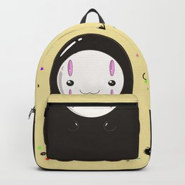 Spirited Away No Face Kawaii With Soot Sprites Backpack