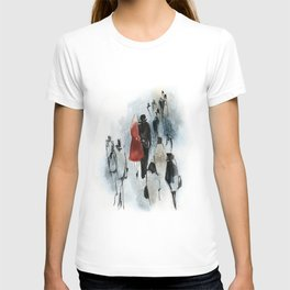 Love Story n.3 - In a Crowd T-shirt