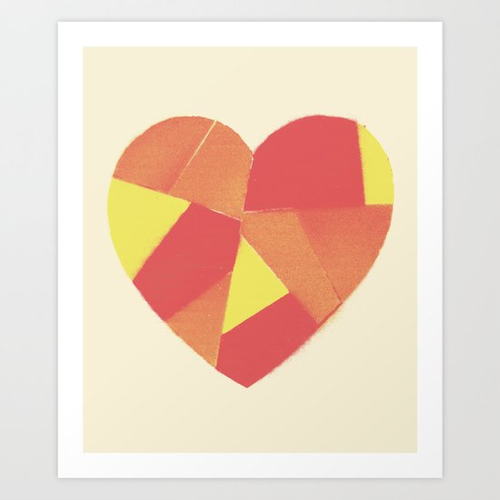 Have a heart Art Print
