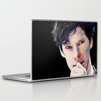 benedict cumberbatch Laptop & iPad Skins featuring Benedict Cumberbatch by Hash